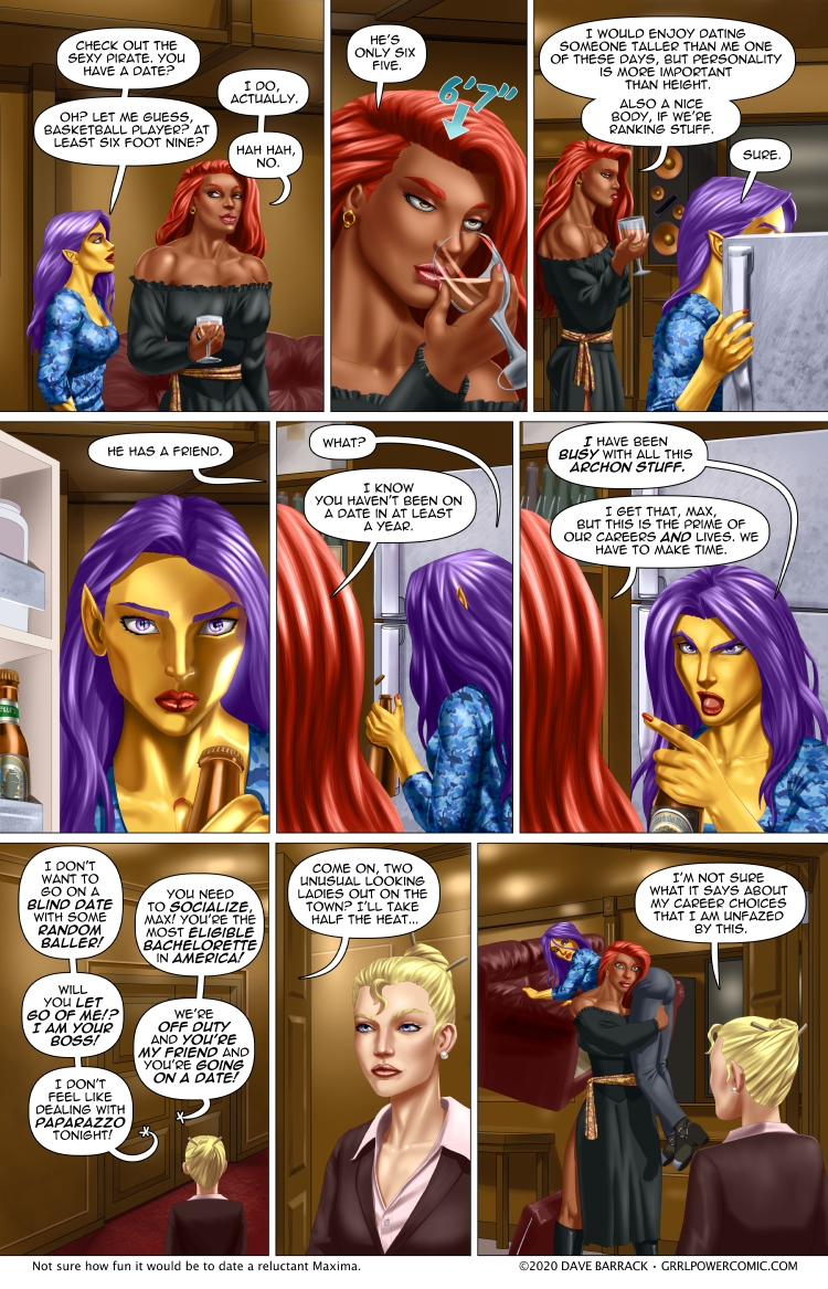 Grrl Power #828 – Wingwoman