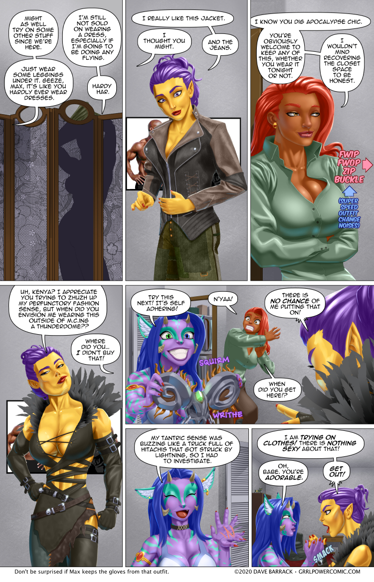 Grrl Power #834 – We don't need another hero… dressed like a stripper