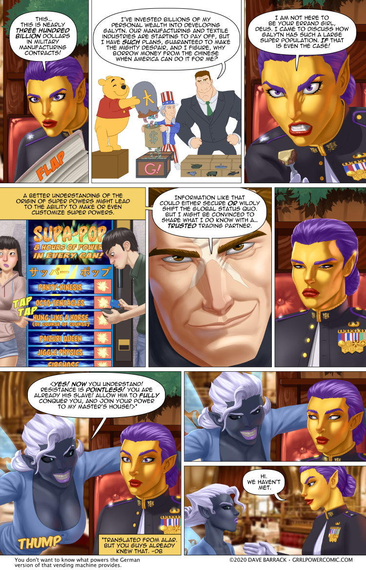 Grrl Power #841 – The ultimate shopping list