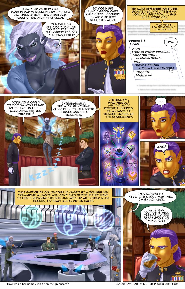 Grrl Power #842 – Legal xeno