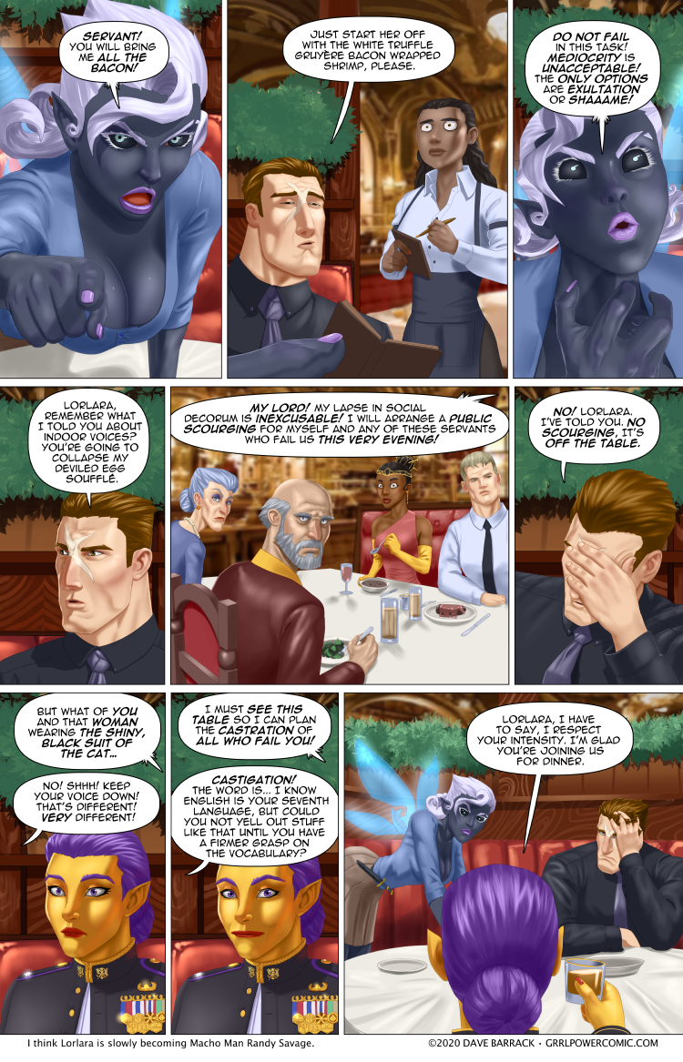Grrl Power #843 – The run away PA