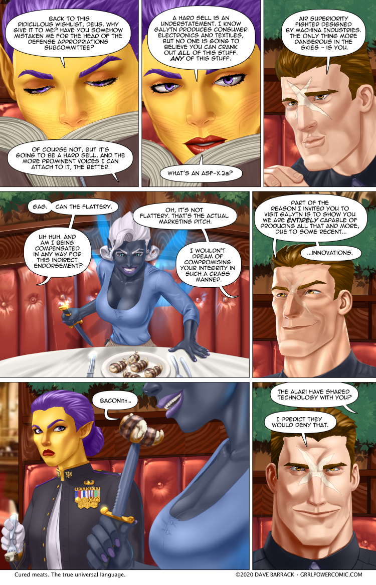 Grrl Power #844 – Dagger shrimp!