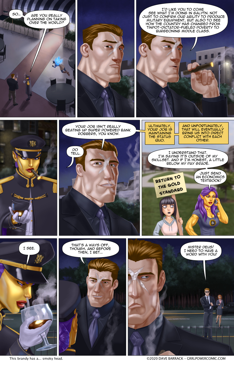 Grrl Power #847 – Status quoverthrow
