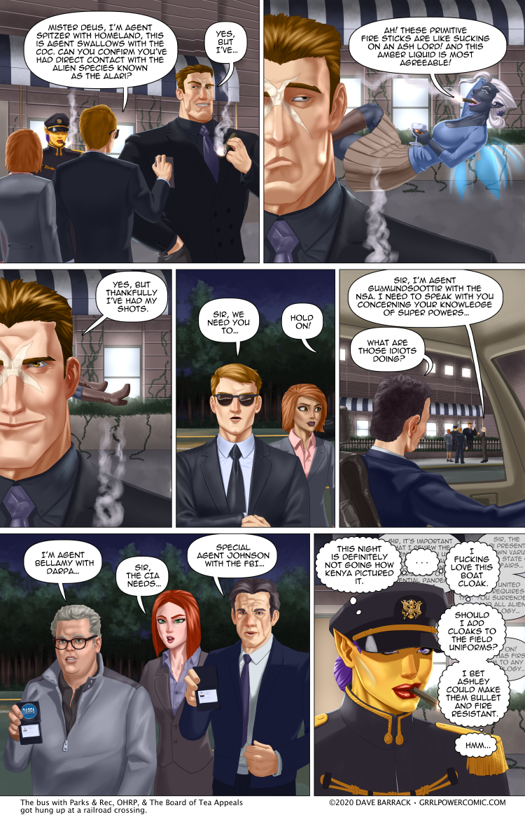 Grrl Power #848 – AgentConFest