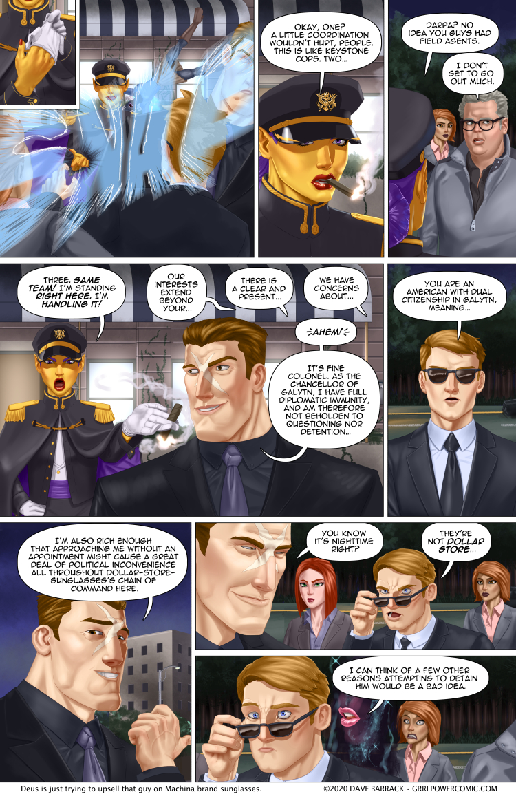 Grrl Power #849 – Diplomatic resistance