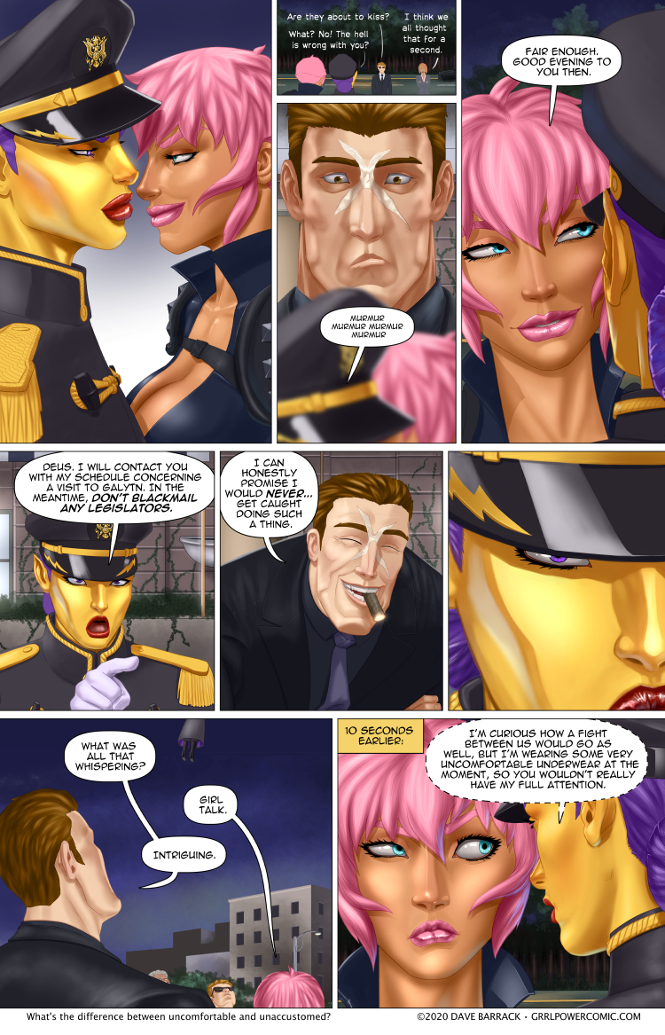 Grrl Power #851 – Thongs away!
