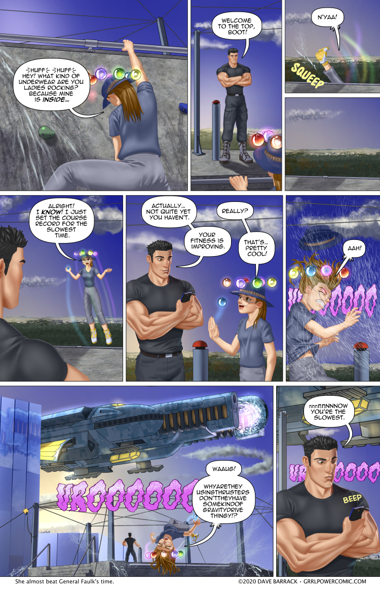Grrl Power #855 – Close encounters of the worst time