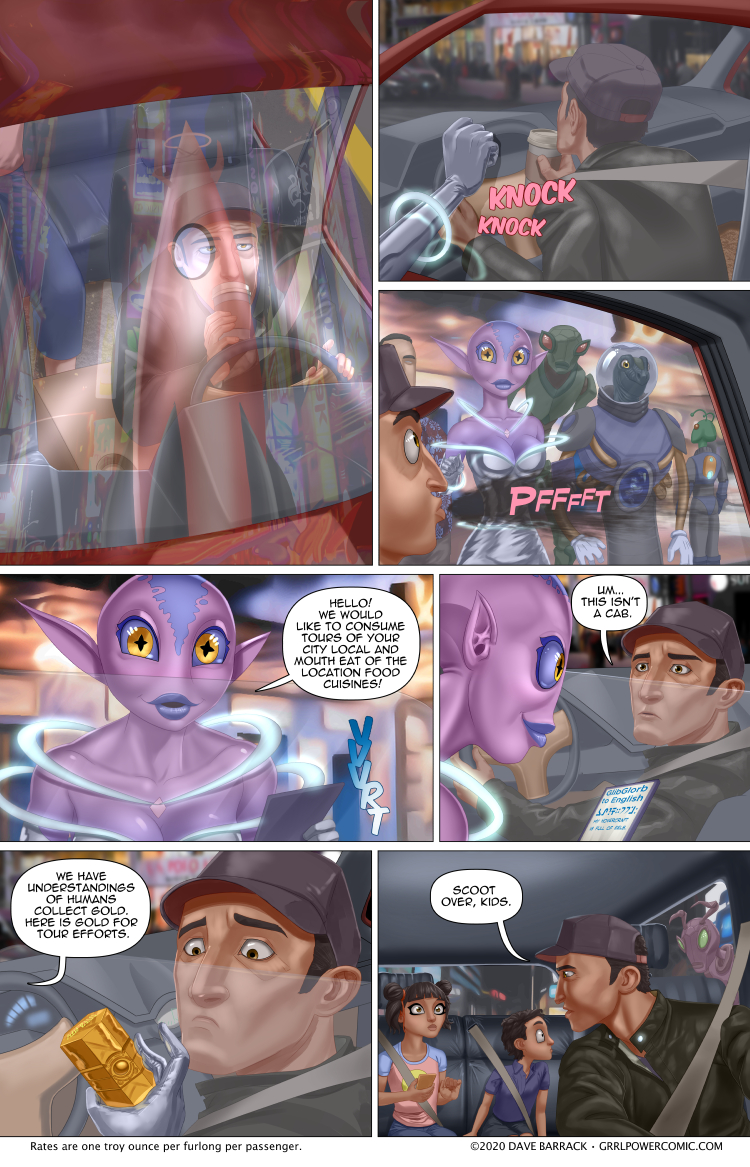 Grrl Power #867 – Tour from the stars