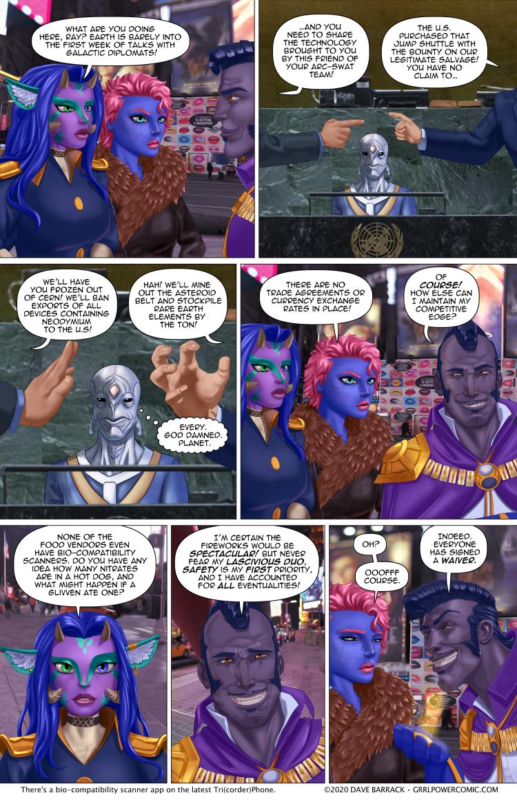 Grrl Power #871 – Cosmic waive