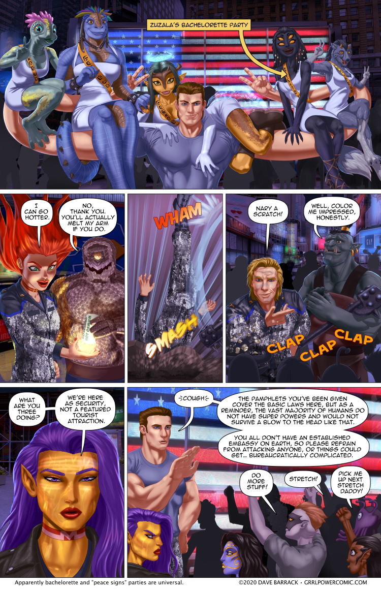 Grrl Power #874 – Infotainment