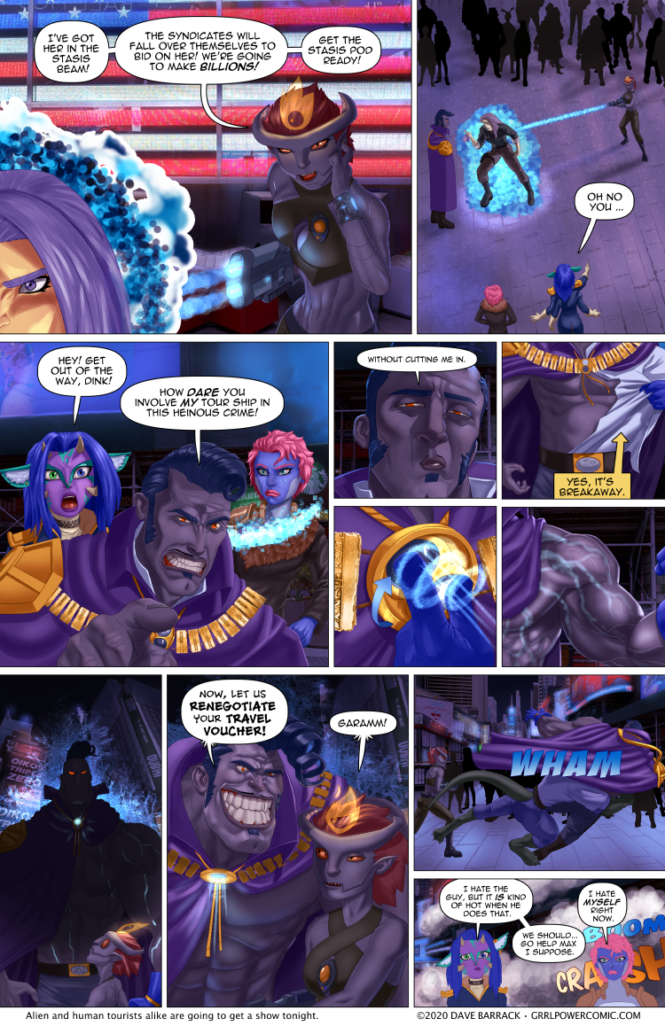 Grrl Power #876 – Mercs and mayhem