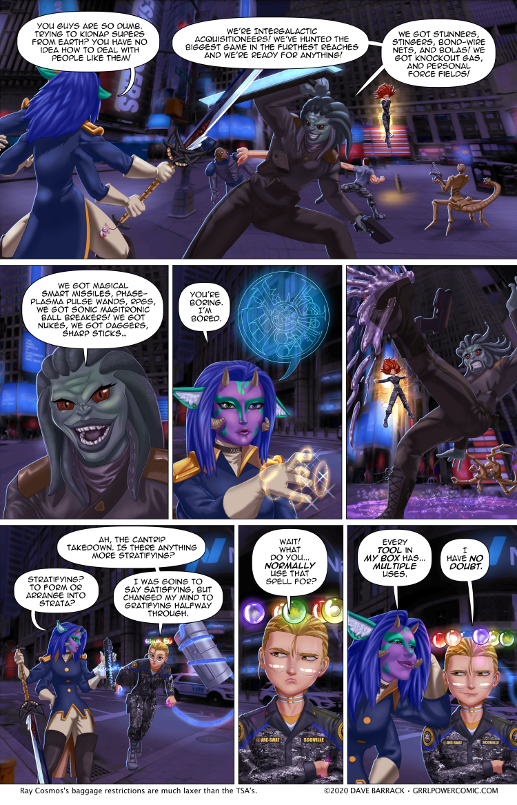 Grrl Power #882 – The slippery arm of the law