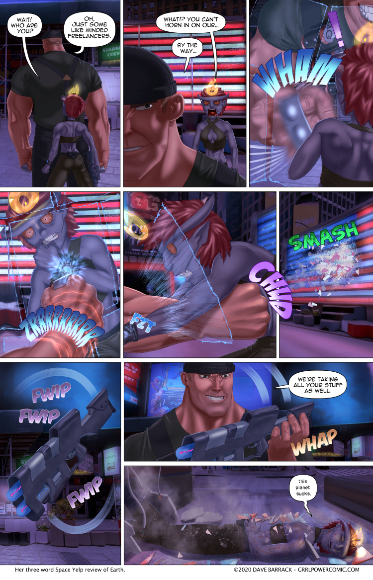 Grrl Power #885 – Gotta catch 'em all with their pants down
