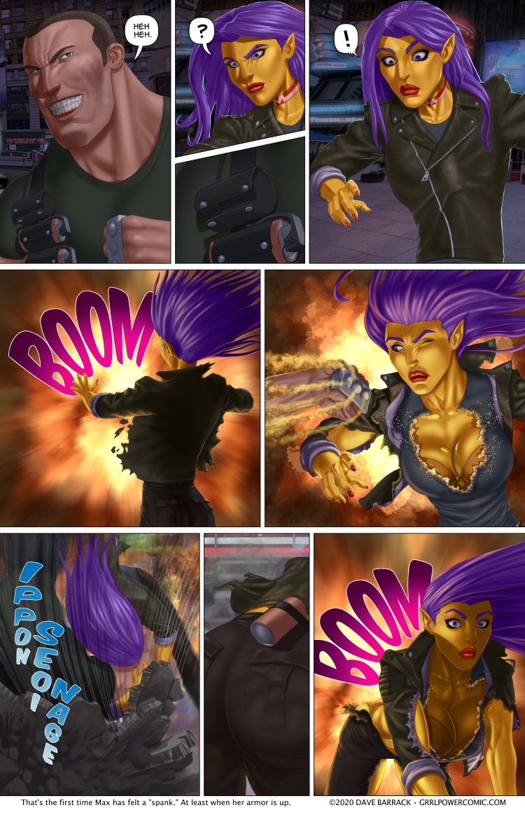 Grrl Power #889 – The denude bomb