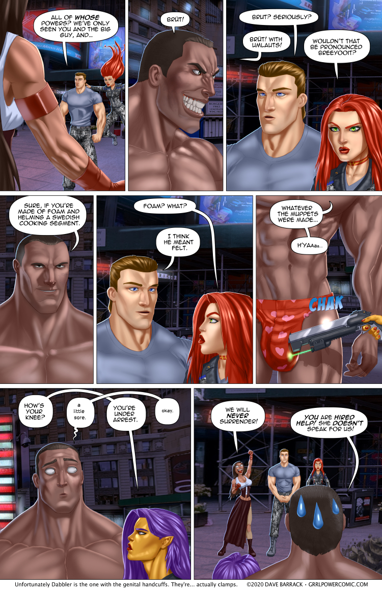 Grrl Power #892 – The most valuable hostage
