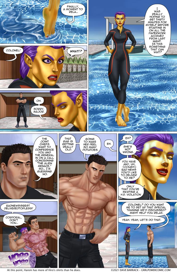 Grrl Power #951 – Superheroes on (melted) ice