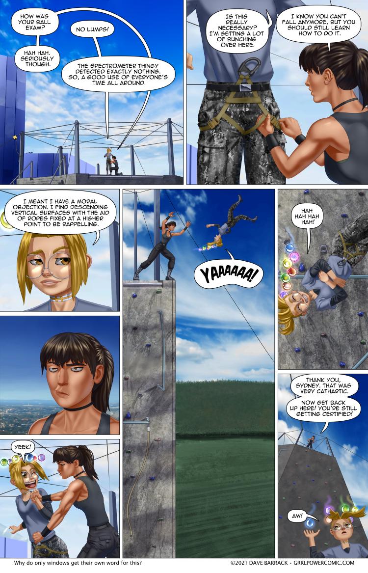 Grrl Power #952 – Puns are the dangerest form of humor