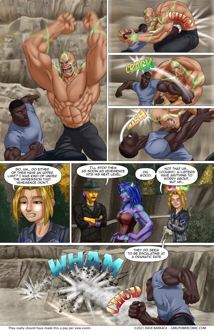Grrl Power #971 – Riprap Punch!