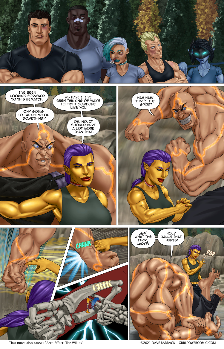 Grrl Power #973 – Ulna you di-in't