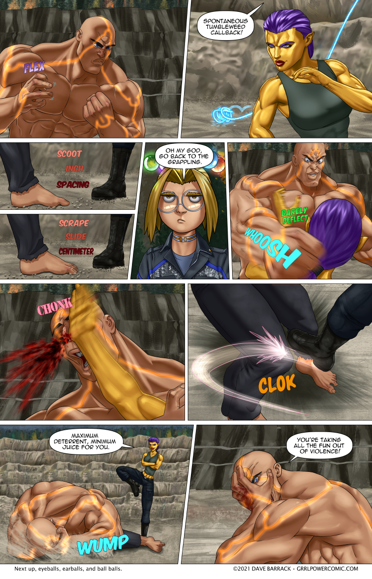 Grrl Power #974 – Death by a thousand chips