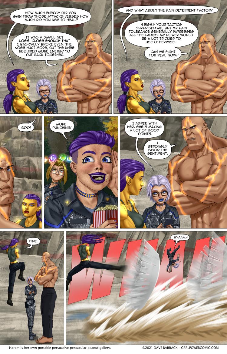 Grrl Power #975 – Cheap kick